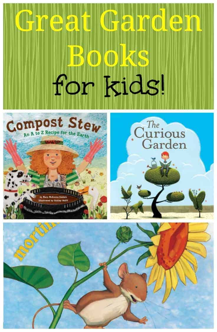 Great garden books for kids part 1 the kitchen garten for Children s books about gardening