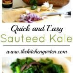 easy sauteed kale