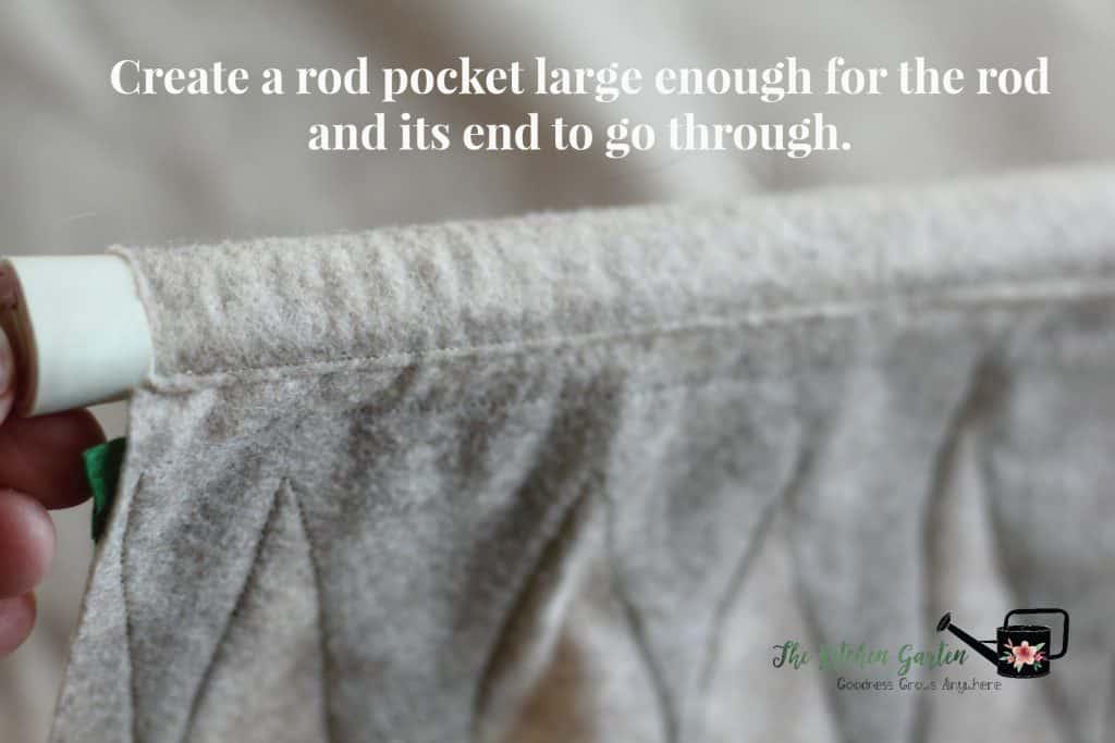 house-rod-pocket