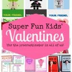 free printable valentine's day cards collage