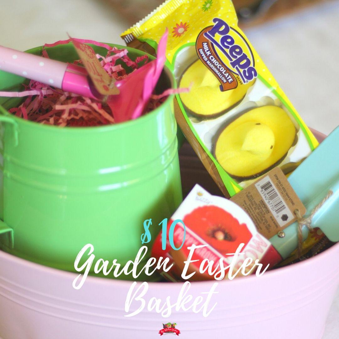 garden easter bucket