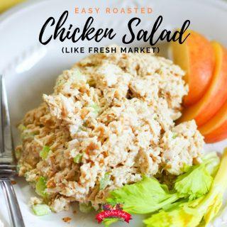Simple Roasted Chicken Salad