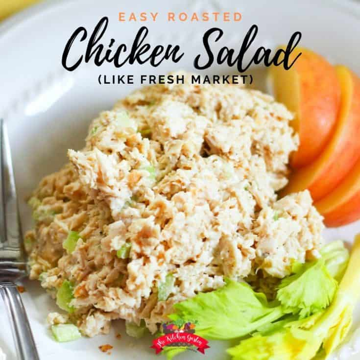 Easy Roasted Chicken Salad