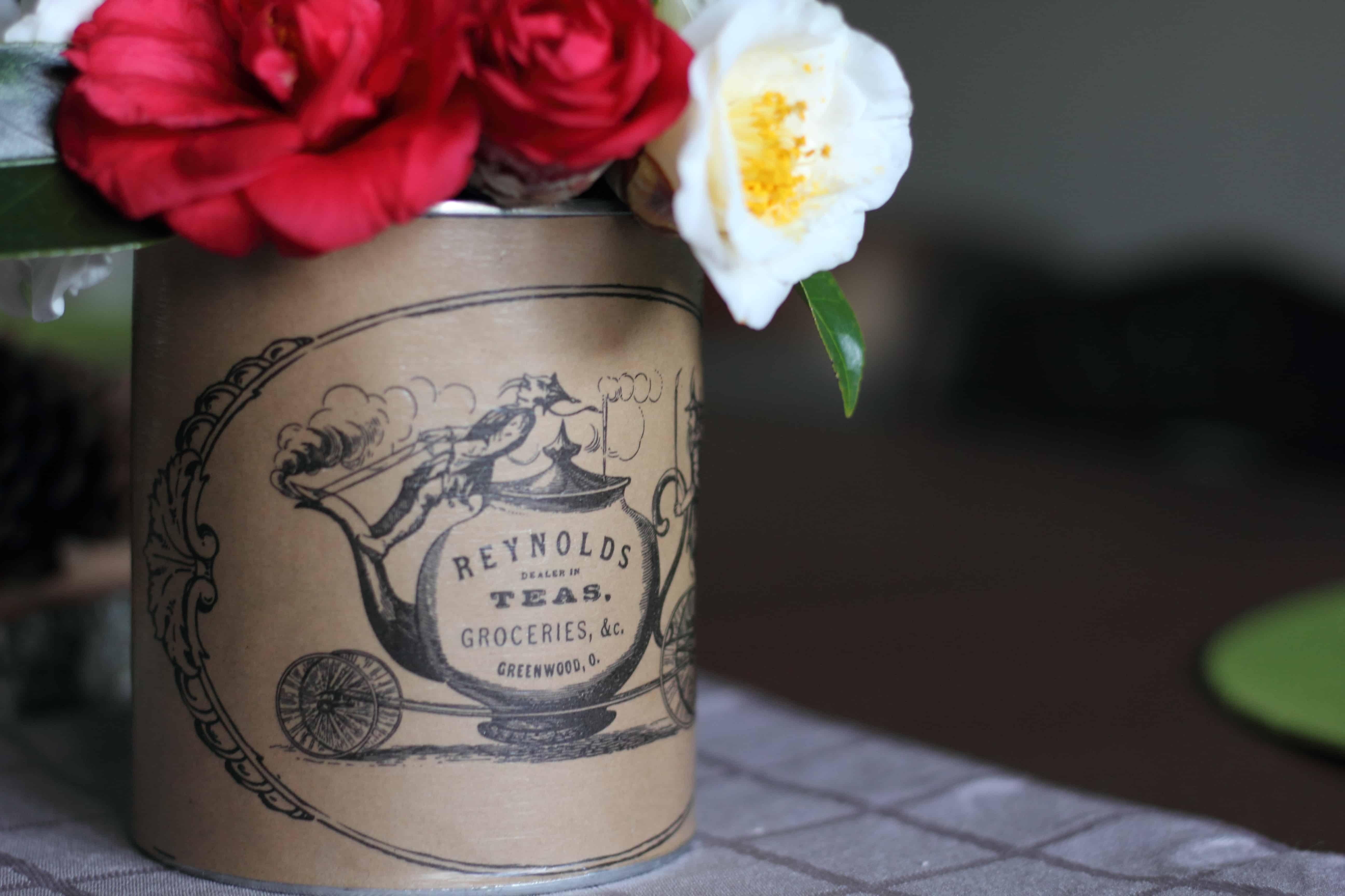 DIY tea canister
