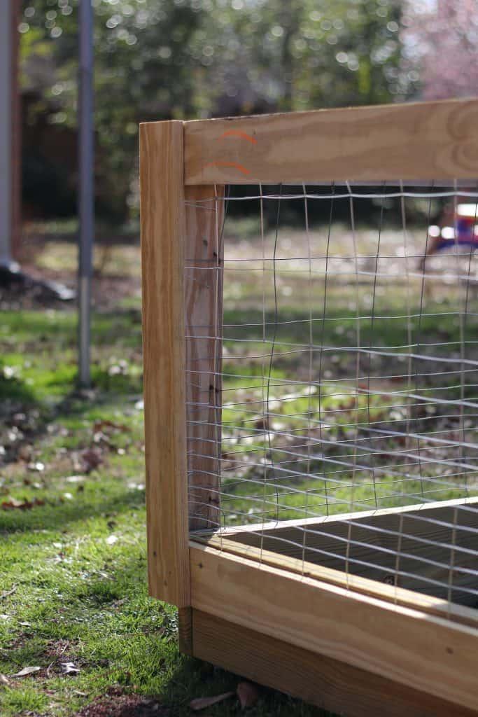 DIY Garden Fence