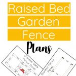 garden fence plans