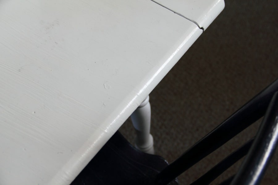 Have you ever been on the search for a perfect piece of furniture? In fact, you can visualize the piece when you close your eyes. But every furniture store, online site, or Craigslist listing falls short. Nothing is exactly what you're looking for. My quest for the perfect school table was going down this same path. Nothing was quite right. All of the tables I found were too big or too small or the wrong shape.