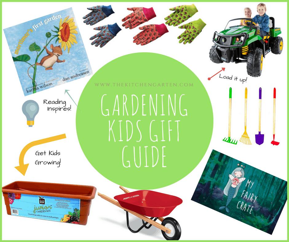 kids garden gift guide