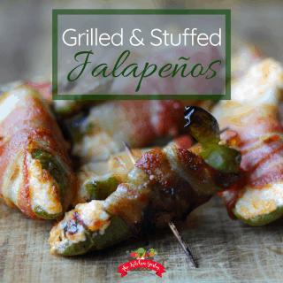 Stuffed Grilled Jalapeños