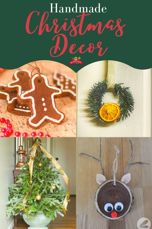 handmade Christmas decor ideas