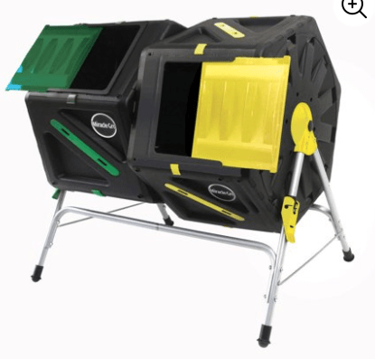 miracle gro dual composter