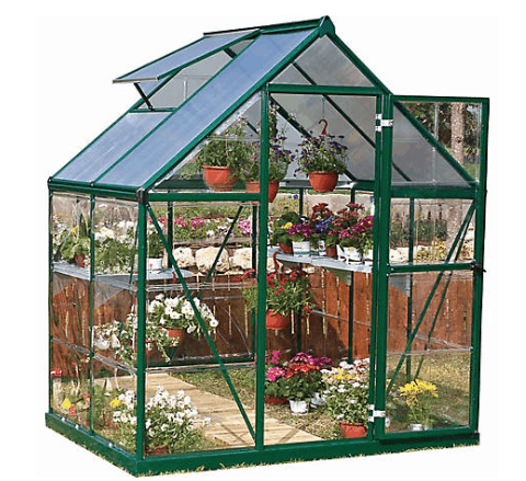 metal and poly greenhouse