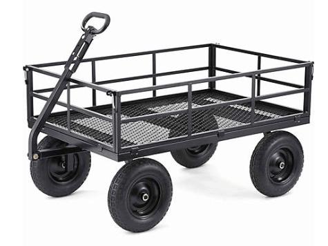 steel garden cart