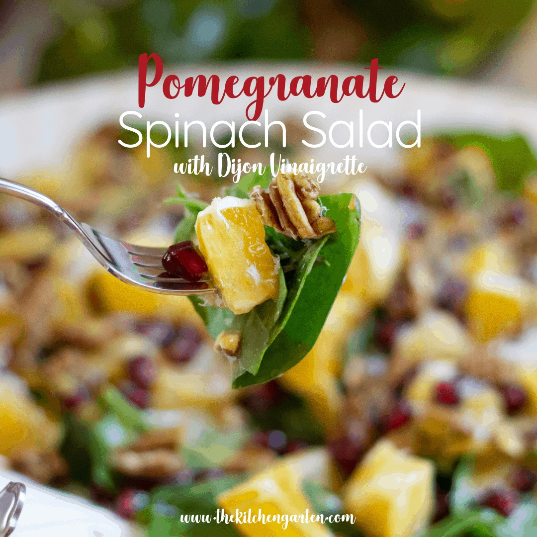pomegranate spinach salad recipe