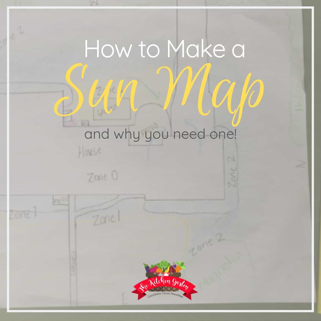how to make a sun map