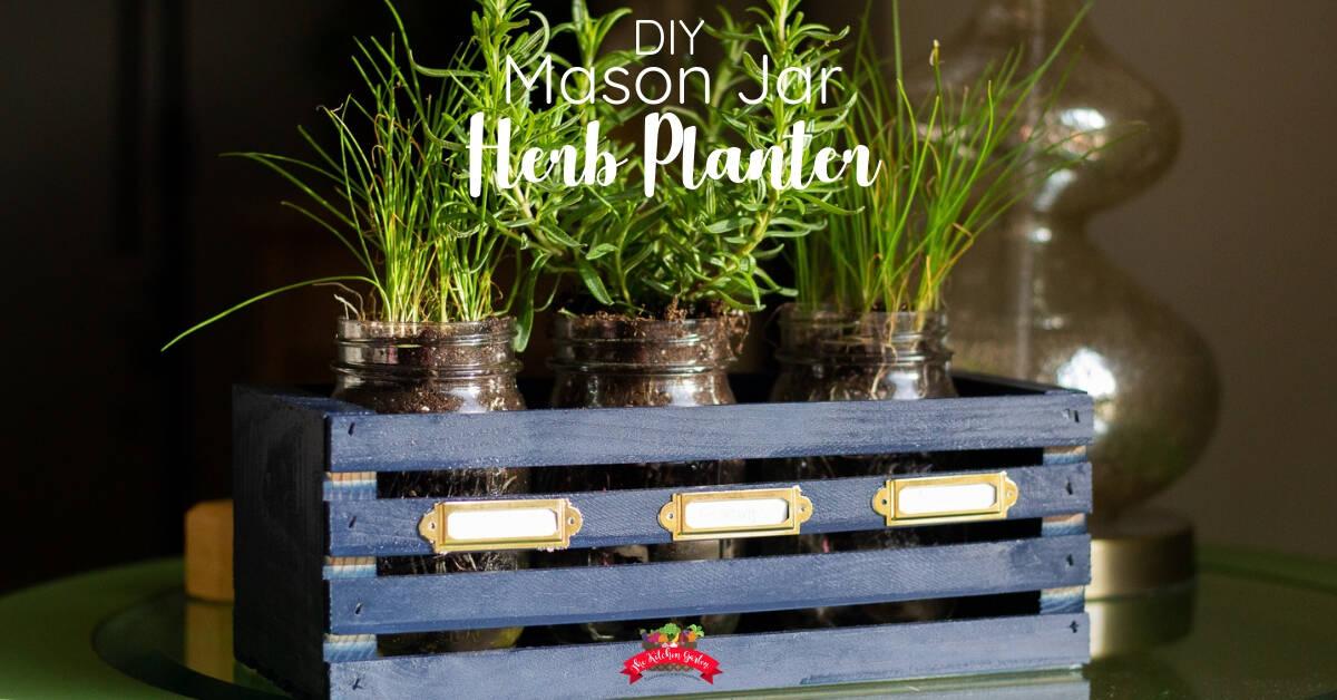 Mini Herb Garden Box