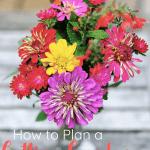 how to plan a cutting garden