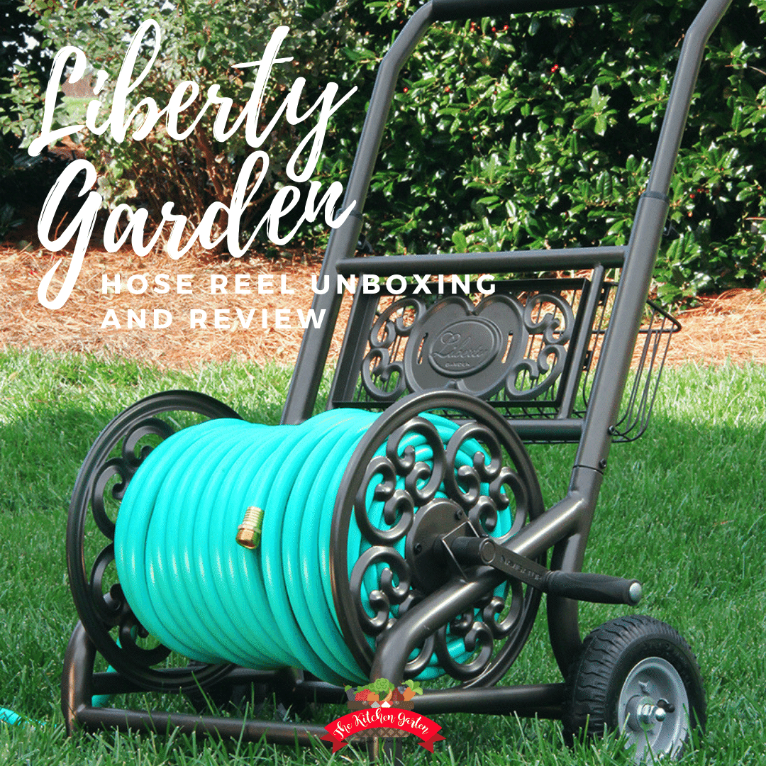 liberty garden hose reel cart