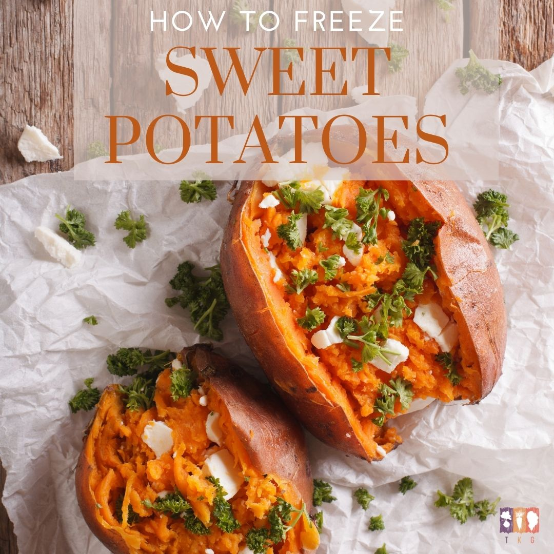 sweet potatoes on a wooden table
