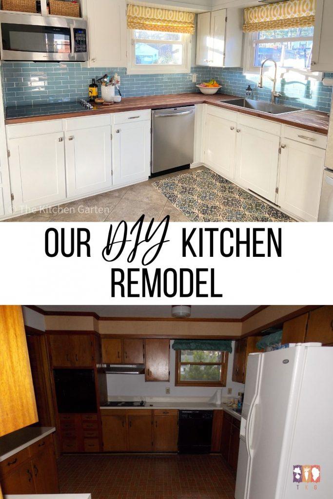 Diy 1950 S Kitchen Remodel The Kitchen Garten