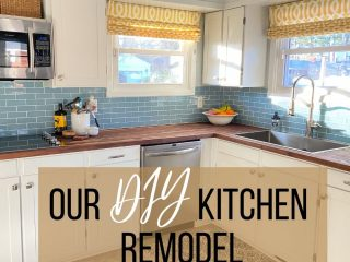 newly remodeled 1950's kitchen