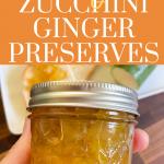 zucchini ginger preserves